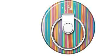 スマートフォンリングBUNKER RING Dish Printing ver.